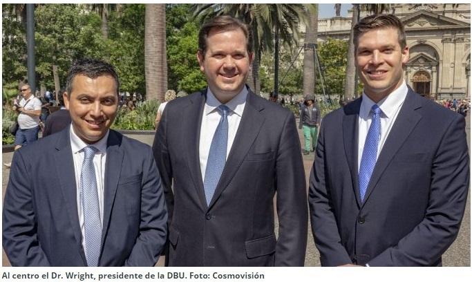 Presidente de Dallas Baptist University visitó Chile